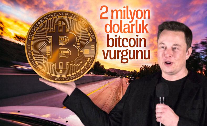 Elon Musk ismini kullanarak 2 milyonluk bitcoin çaldılar