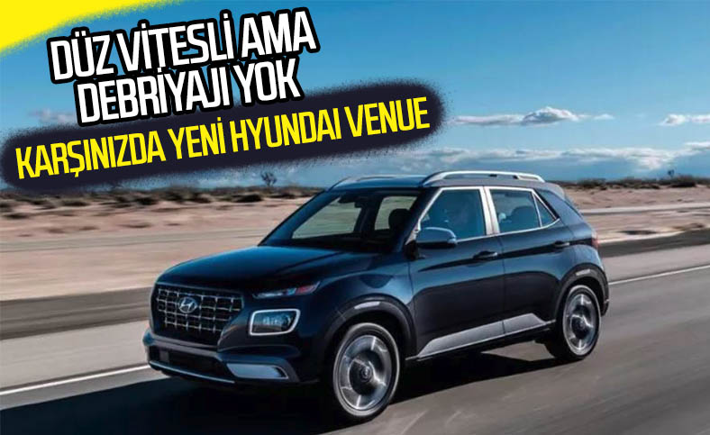 Hyundai'den debriyajı olmayan düz vitesli otomobil