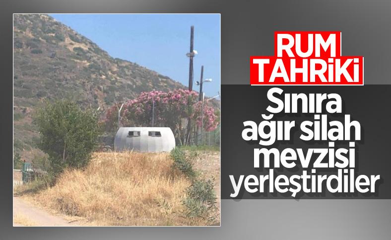 Güney Kıbrıs Rum Kesimi'nden sınırda ağır silahlı tahrik