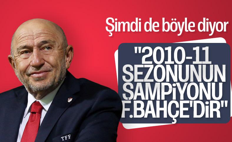 Nihat Özdemir: 2010-11 şampiyonu Fenerbahçe'dir