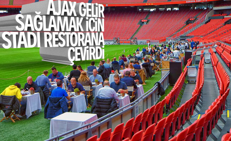 Ajax, Johan Cruyff Arena'yı restorana çevirdi