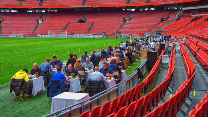 Ajax'ın stadını restorana çevirdiler #1