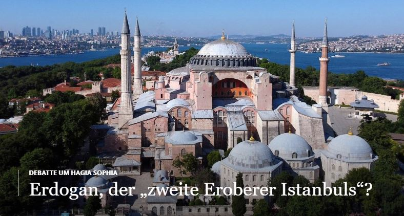 Alman basını: Erdoğan, İstanbul'un ikinci Fatih'i #1
