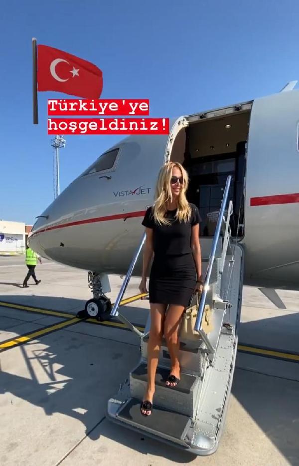 Dünya Kupası elçisi tatil için Antalya'da #1