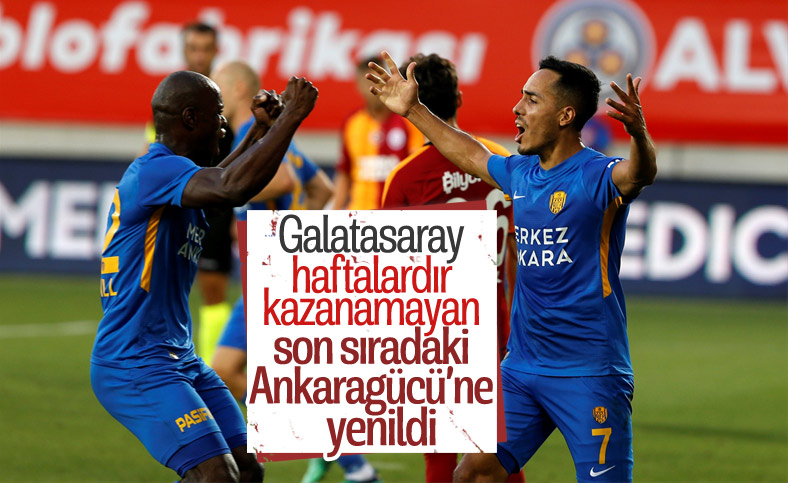 Galatasaray, Ankara'dan eli boş döndü