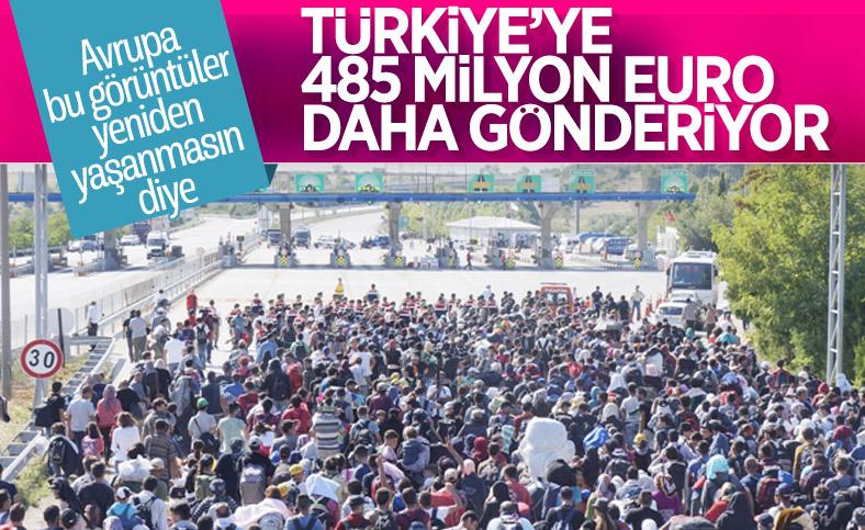 AB'den Türkiye'deki sığınmacılara 485 milyon euro yardım
