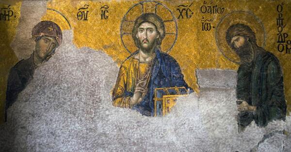 Diyanet'ten Ayasofya'daki fresklerle ilgili duyuru #2