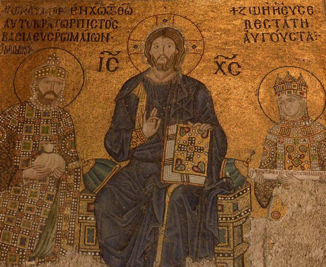 Diyanet'ten Ayasofya'daki fresklerle ilgili duyuru #1