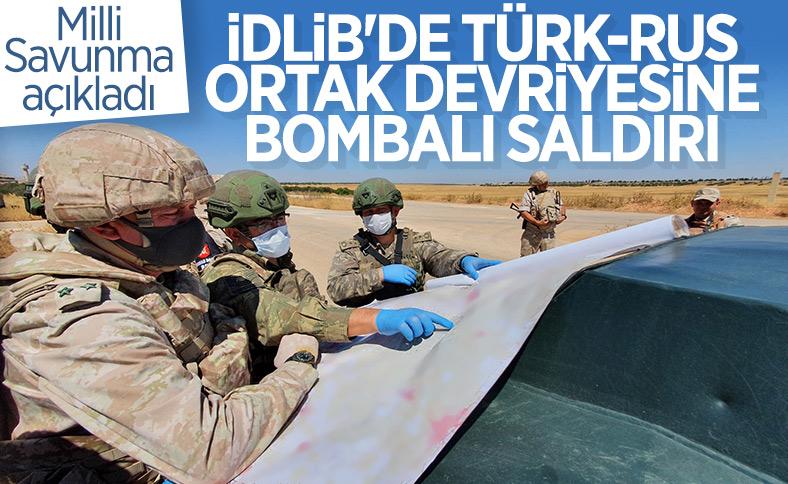 İdlib'de Türk-Rus ortak devriyesi sırasında saldırı