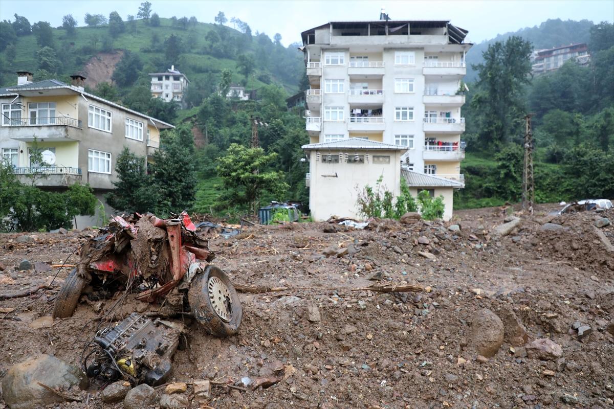 Rize'deki yağışlarda son 91 yılın rekoru kırıldı #8
