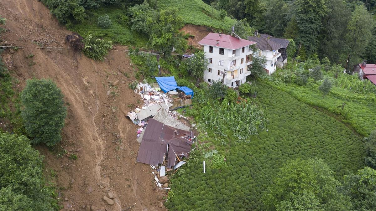 Rize'deki yağışlarda son 91 yılın rekoru kırıldı #21