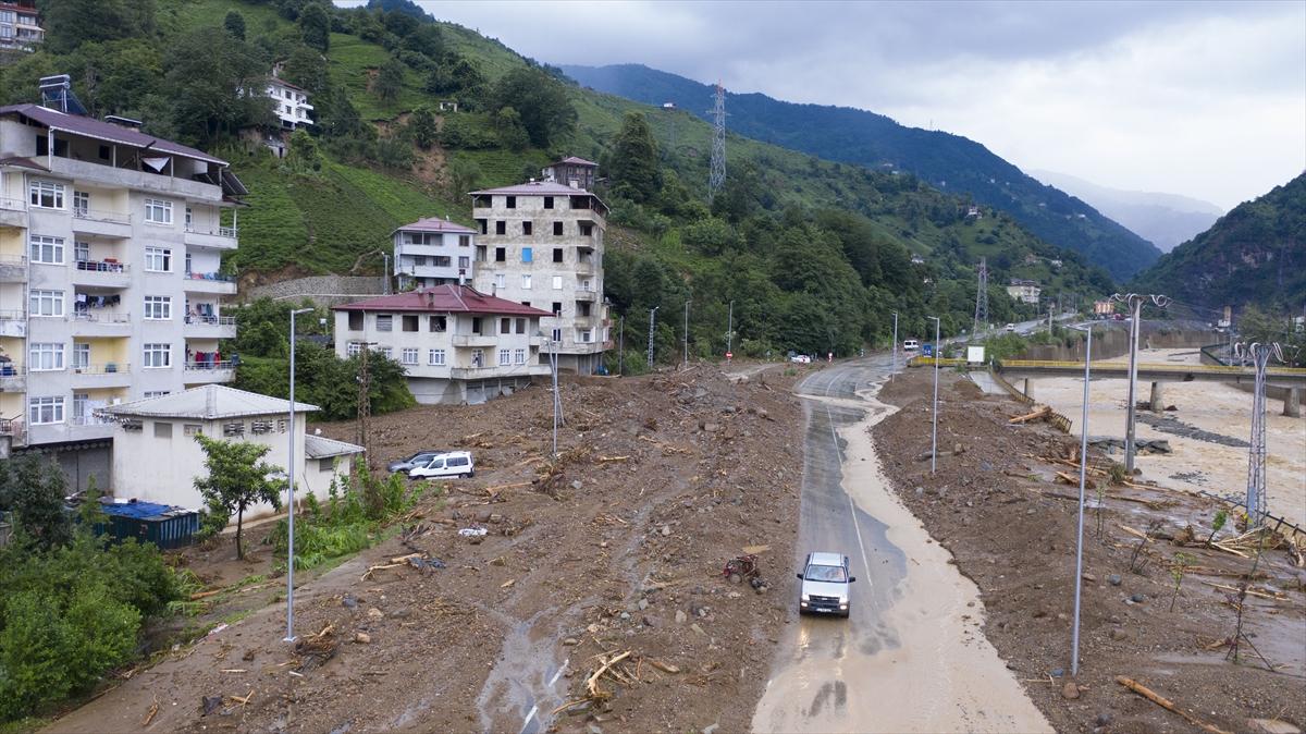 Rize'deki yağışlarda son 91 yılın rekoru kırıldı #27