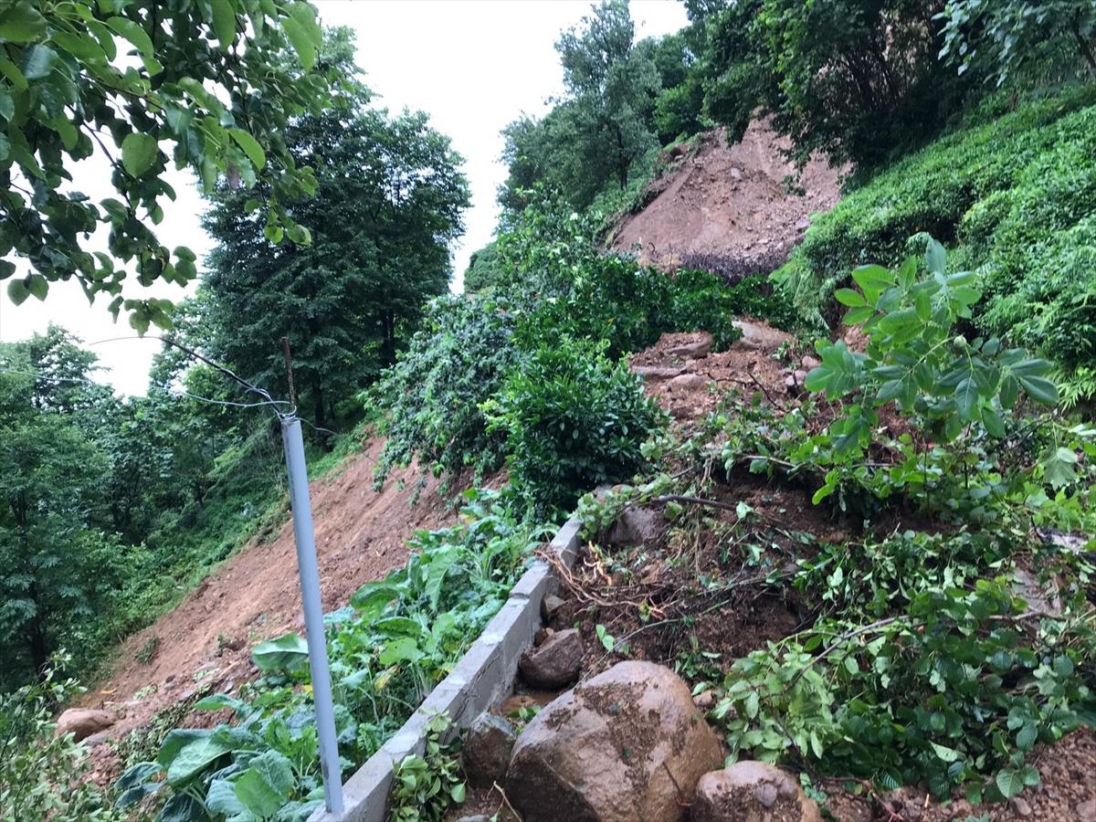 Rize'deki yağışlarda son 91 yılın rekoru kırıldı #1