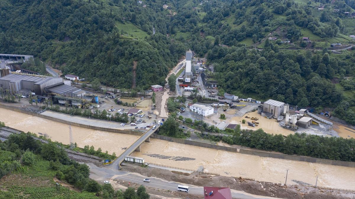 Rize'deki yağışlarda son 91 yılın rekoru kırıldı #25