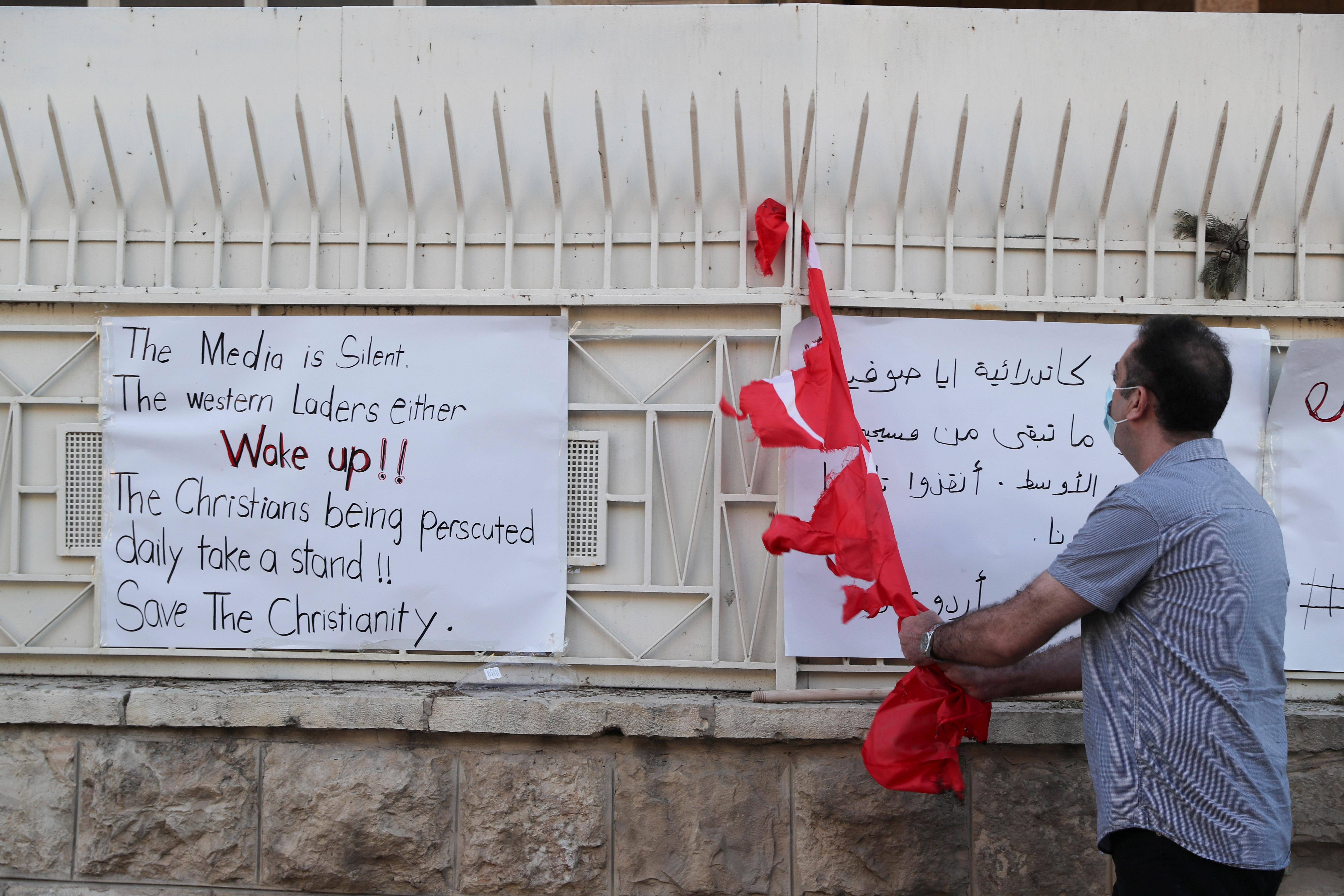 İsrailli gruptan, Türk bayrağına alçak saldırı #2