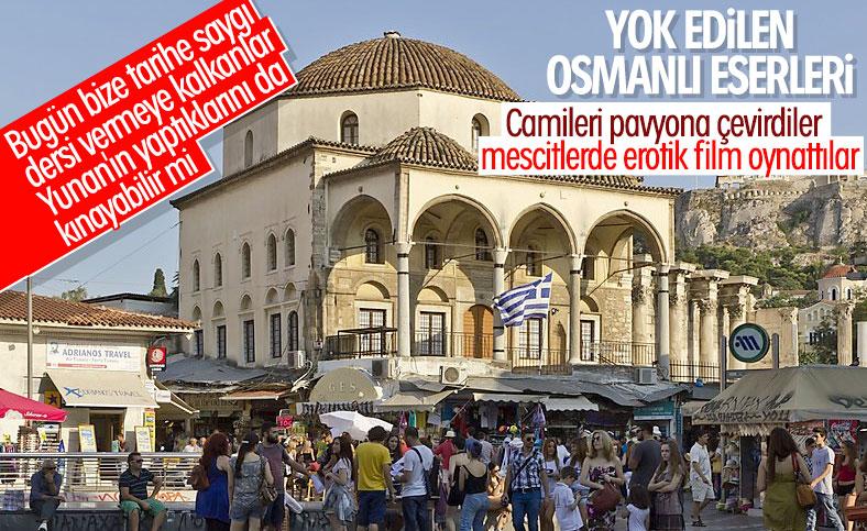 Yunanistan'da yok olan Osmanlı eserleri