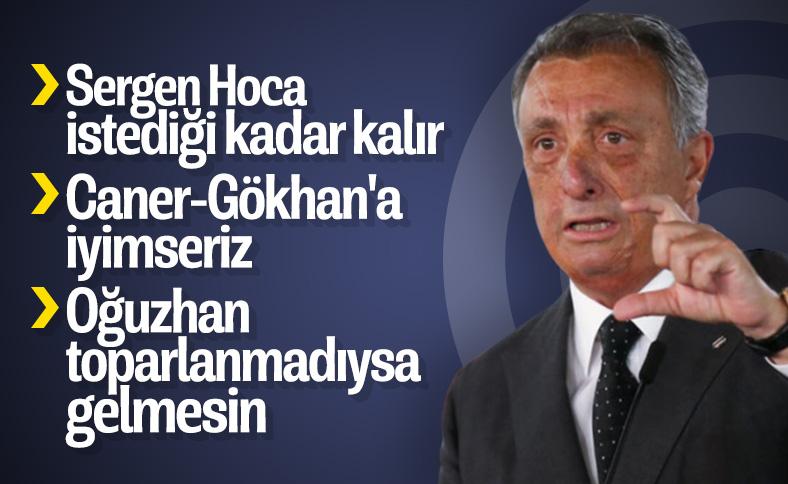 Ahmet Nur Çebi: Sergen Hoca'nın geleceği parlak