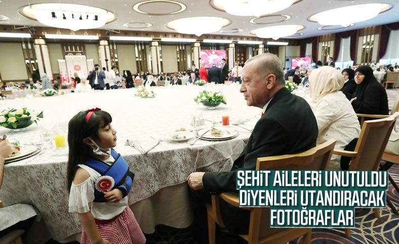15 Temmuz şehitlerinin yakınları Erdoğan'la buluştu