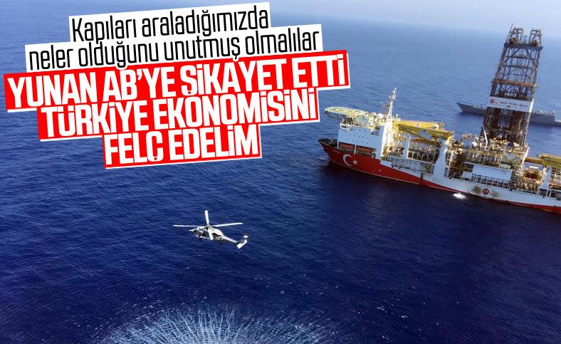 Yunanistan'dan AB'ye Türkiye'ye yaptırım talebi