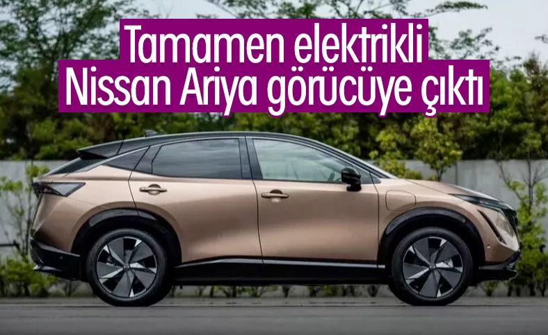 Nissan'ın tamamen elektrikli modeli Ariya tanıtıldı