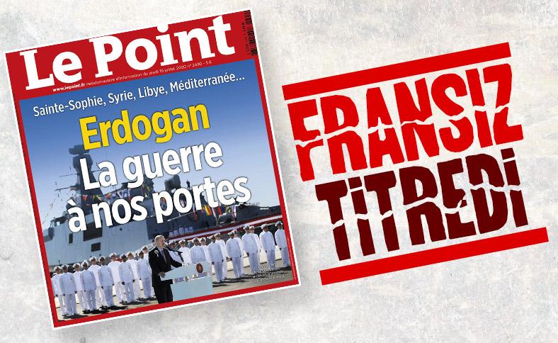 Fransız Le Point dergisinde gündem Türkiye