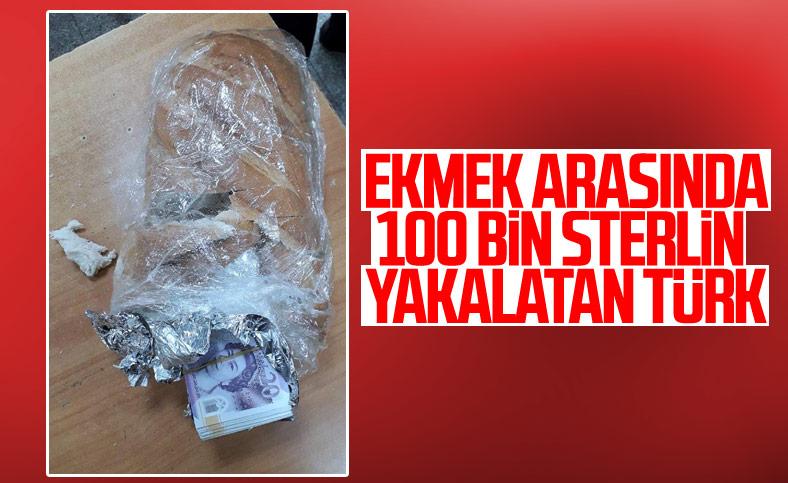 Sırp sınırınada 100 bin sterlin yakalatan gurbetçi