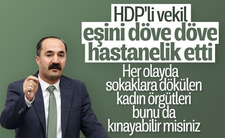 HDP'li Mensur Işık, eşini darbetti