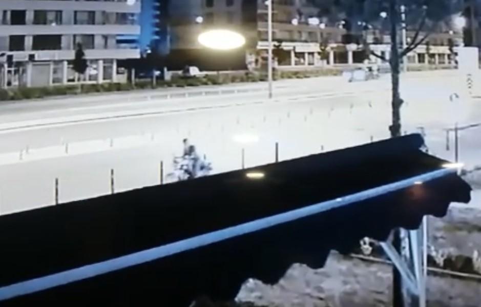 Konya'da motosiklet çalan hırsız #3