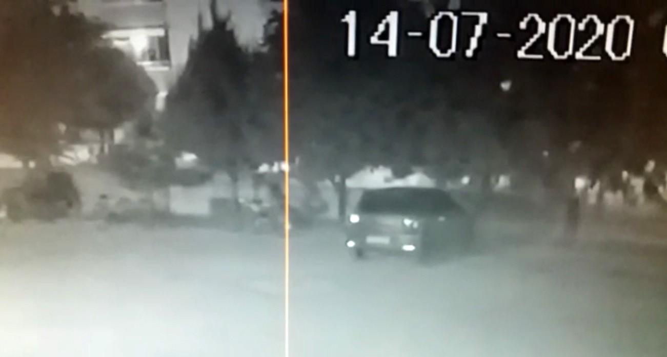 Konya'da motosiklet çalan hırsız #1
