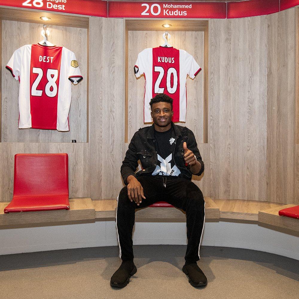 Ajax, Muhammed Kudus'u transfer etti #1