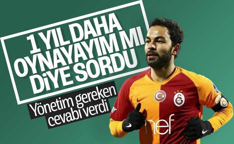 Galatasaray'dan Selçuk İnan'a ret