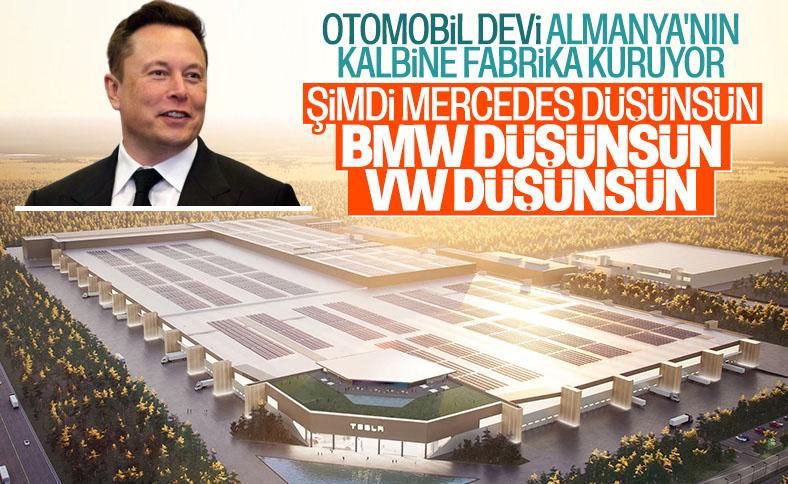 Elon Musk, Berlin'de kurulacak Tesla fabrikasını paylaştı