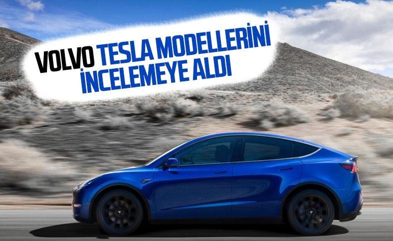 Volvo, Tesla otomobillerindeki teknolojiyi inceliyor