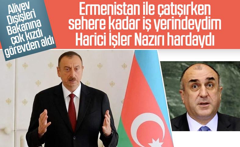 Azerbaycan Dışişleri Bakanı Mamedyarov görevden alındı