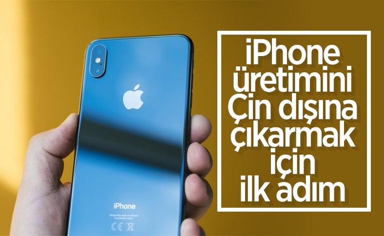 Apple, iPhone üretimini Çin dışına taşıyor