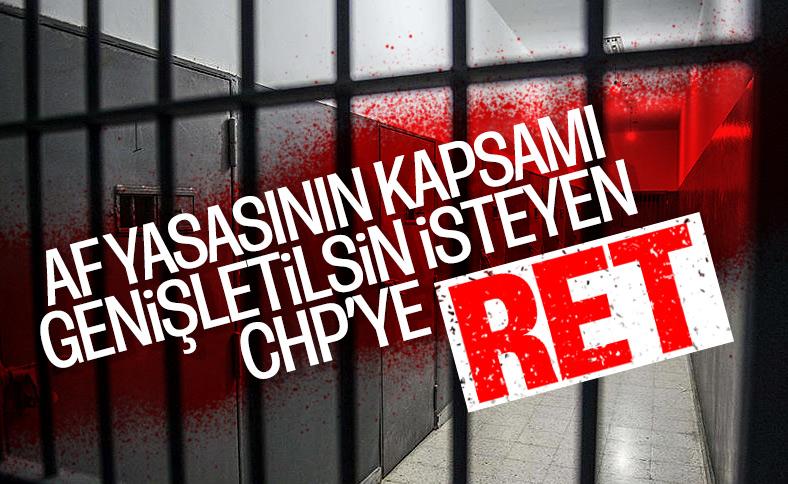AYM CHP'nin İnfaz Yasası'nın iptali talebini reddetti