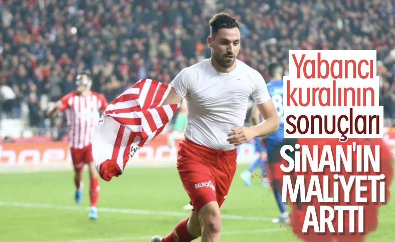 F.Bahçe ve Trabzonspor, Sinan Gümüş'ün peşinde