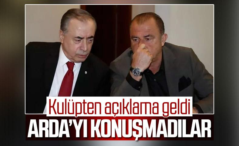 Galatasaray: Arda Turan transfer edilmeyecek