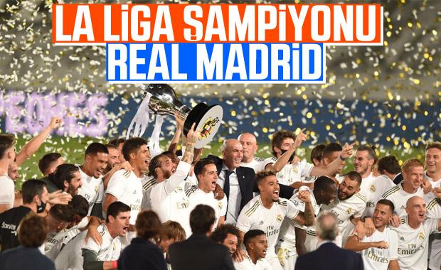 Real Madrid bir hafta kala şampiyon