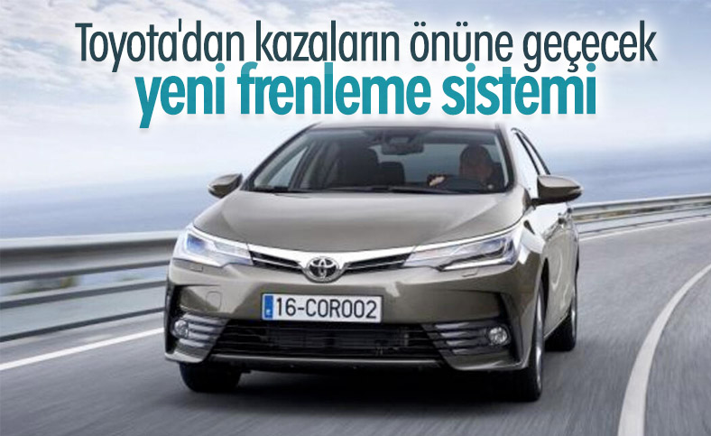 Toyota'dan istemsiz hızlanmanın önüne geçecek yeni sistem