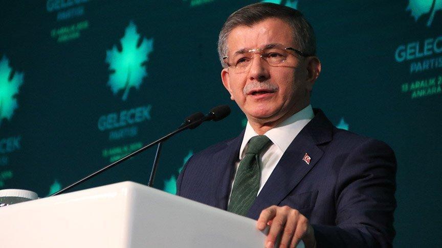 Ahmet Davutoğlu'ndan Siyasi Partiler Kanunu tepkisi #1