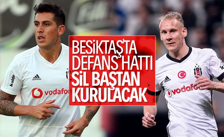 Beşiktaş, savunmayı yeniden kuracak
