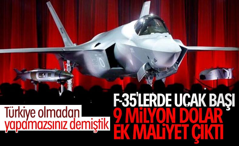 Türkiye'nin F-35 programından çıkarılmasının maliyeti