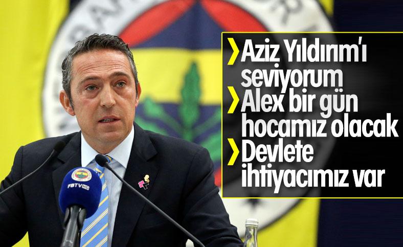 Ali Koç, divan kurulu toplantısında konuştu
