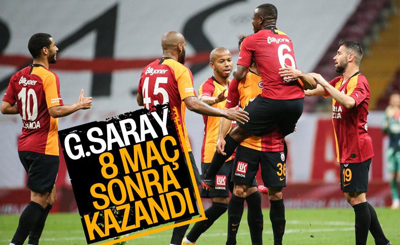 Galatasaray, evinde Göztepe'yi mağlup etti