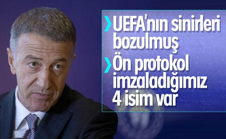 Ahmet Ağaoğlu: Spekülasyonlar gerçekleri yansıtmıyor