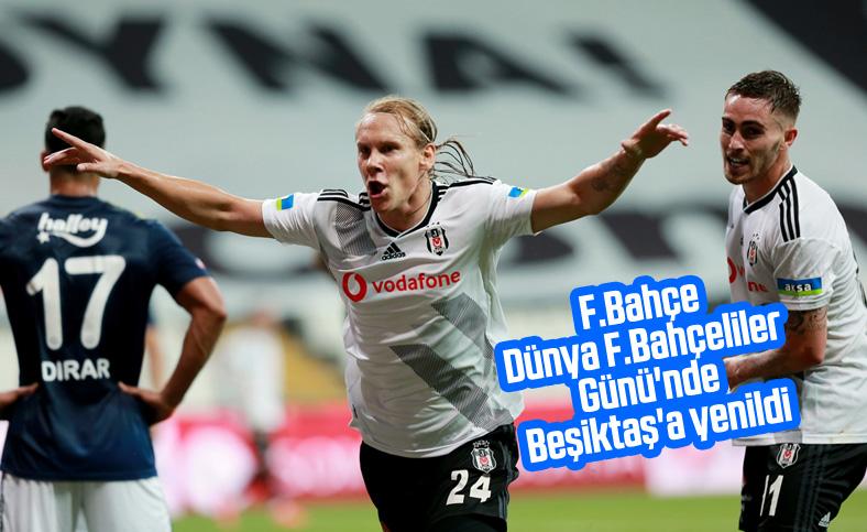 Beşiktaş derbiyi kazandı