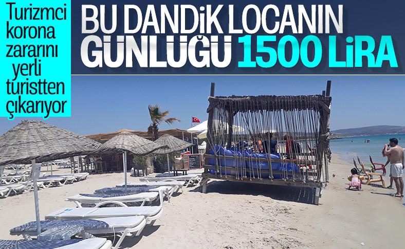 Çeşme'de localar 1500 liraya kiralanıyor