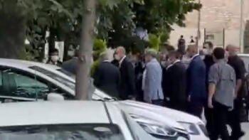 Cumhurbaşkanı Erdoğan Ayasofya Camii'nde #1