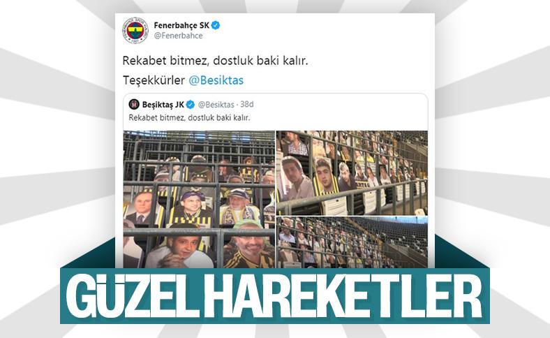 Beşiktaş, vefat eden F.Bahçelileri unutmadı